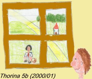 Thorina: Marcus am Fenster