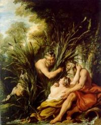 de Troy: Pan and Syrinx